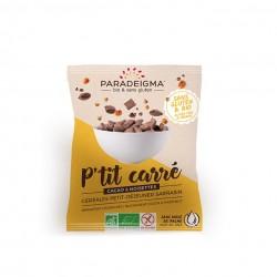 P'tit Carré cacao & noisettes (40g)
