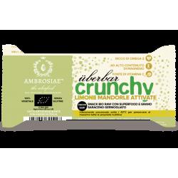 Barre crunchy citron, amandes activées